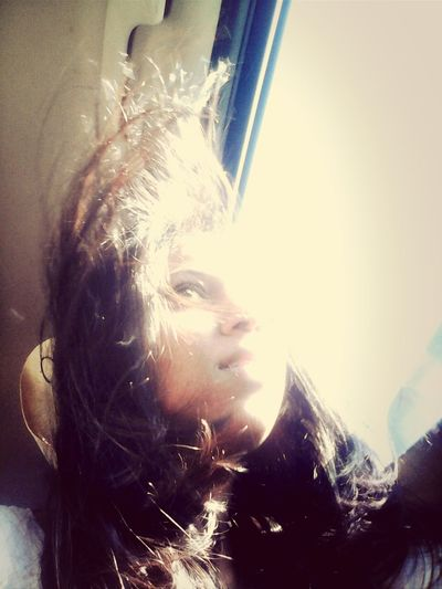 My Hair In The Wind Love My Hair <3