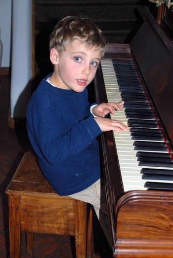 Kids Being Kids Children Kids Having Fun Childhood Kids Photography Children Photography Pretending Makebelieve Musical Instrument Music Piano Musical Equipment Arts Culture And Entertainment Musician Child Pianist Males  Playing Boys Piano Key Childhood Keyboard Instrument Offspring One Person Indoors  EyeEmNewHere