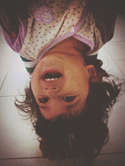 Rotate Happiness Baby Take Photo