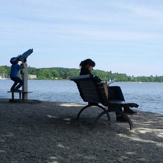 People Sky Watcher Lake