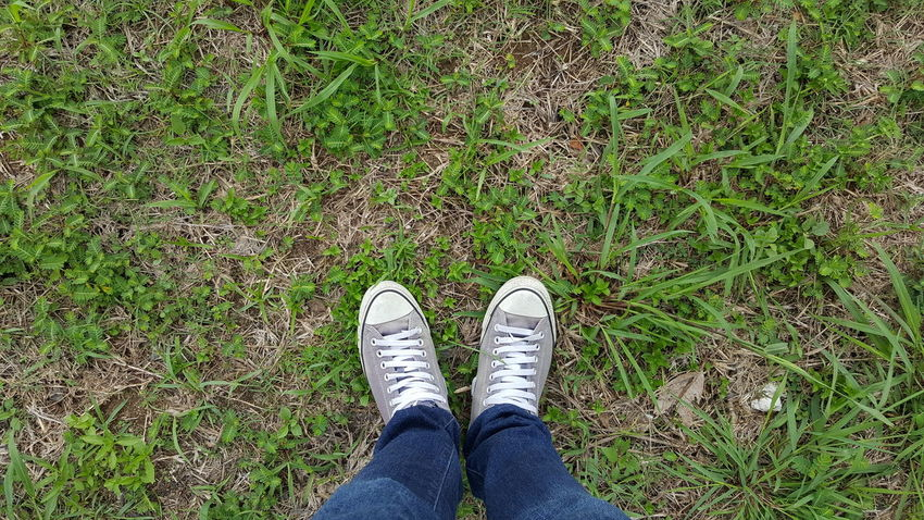 Note5photography Grass Converse All Star