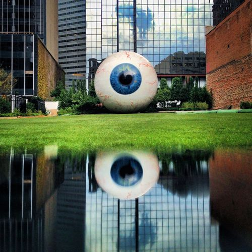 Eyes. 2014 Joseph Haubert Check This Out Dallas Hanging Out Portrait