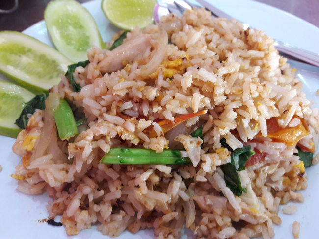 Ready-to-eat Serving Dish Fast Food Fried Rice
