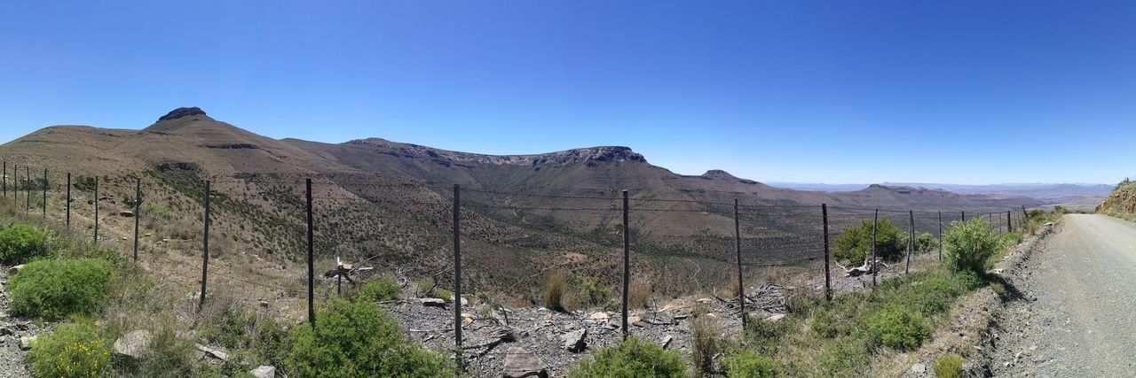 Another view of Cradock from Swaershoek hoek pass