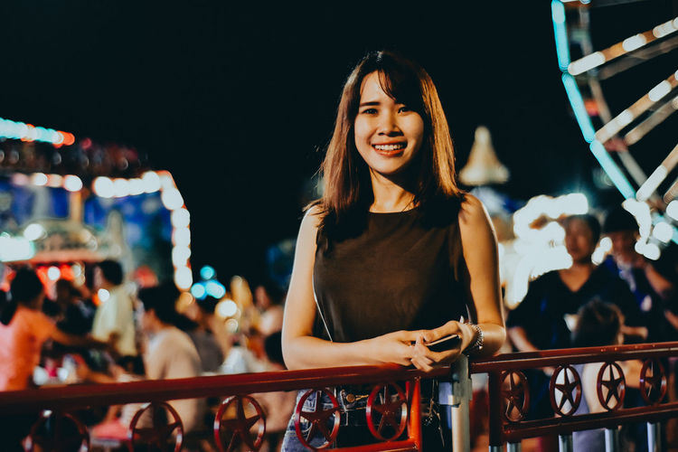 Arts Culture And Entertainment Beautiful Woman City Crowd Event Fashion Model Fashion Show Focus On Foreground Illuminated Incidental People Instagram Leisure Activity Lifestyles Night Nightlife Outdoors People Performance Performing Arts Event Premiere Railing Real People Stage - Performance Space Women Young Adult