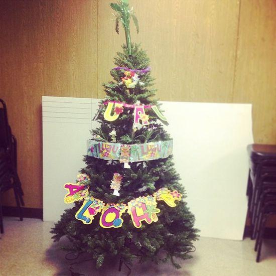 Decorated my first Hawaiian Christmas tree! ???? Should I call it.. Hawaiimas Tree? Christmaiian Tree? Who knows?! ? Christmas Christmastree Santa Santaclause hawaii hawaiian christmaiiantree silly aloha party luau mooselodge tbt friday fun goofy love instapic instagood instalove instafun instasilly instafollow instalike tiki