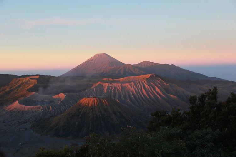 Sunrise at mount bromo, indonesia