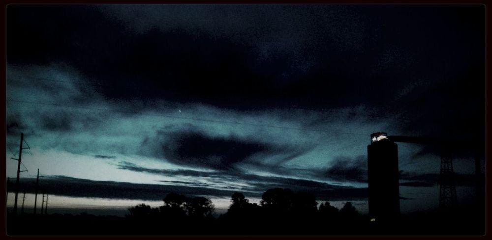 Early Morning Sky Illinois Landscape