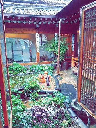 차마시는뜰 북촌 한옥 비 가족여행