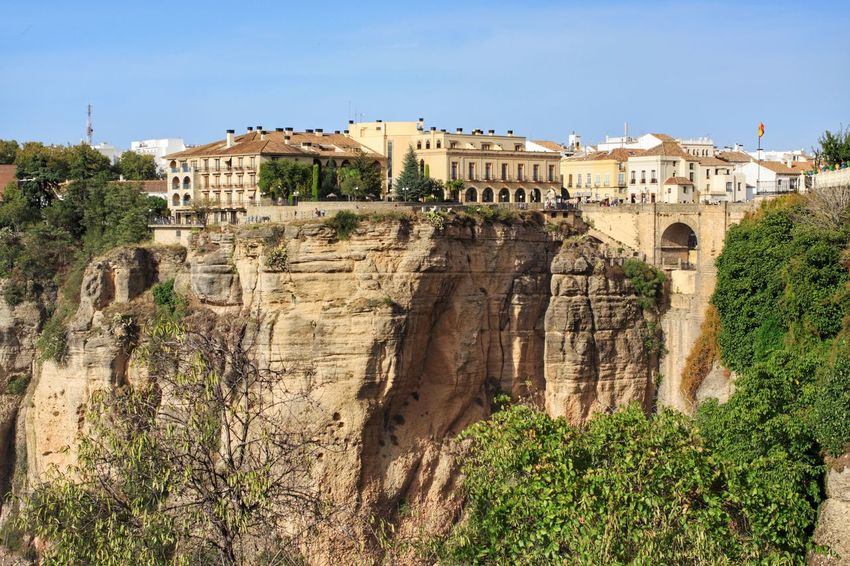 Architecture Built Structure History Ancient Travel Destinations Tourism Sky Ronda Ronda Spain Ronda Bridge RondaTrip Ronda, Malaga Ronda Andalucia Ronda Scenery Ronda Costa Del Sol Cliffs Cliffside Cliff Clifftop Cliff Face Cliff Edge Ronda Views Parador Hotel Ronda Building Exterior Travel