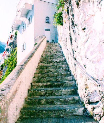 My Favorite Place Sunny Architecture Colorful Amalfi Coast Italy