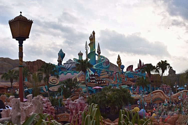 Japanese  Disney DisneySea DisneyWorld Mermaidlagoon