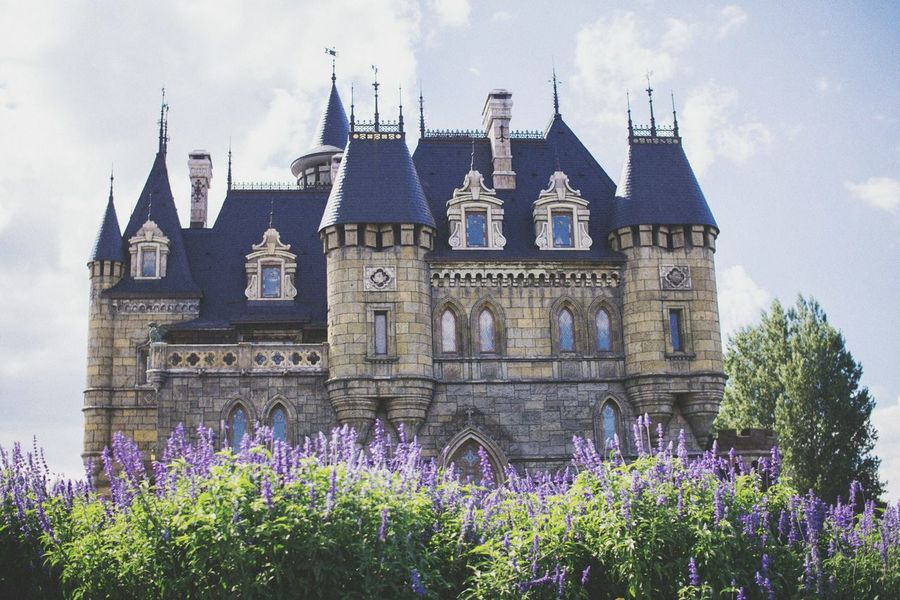 Architecture Flower Building Exterior Garibaldi Castle Summer Built Structure Russia Sonyphotography History