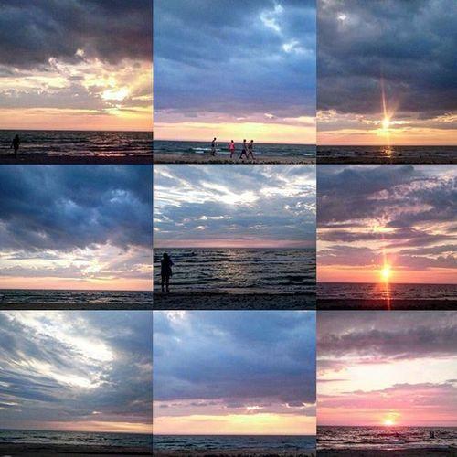 😎🌅🌊☁️ Sunset Saublebeach Beachlife Beach Clouds Sun Cloudporn Sky Owensound Ontario Canada Mothernature Canada Canadiansky Mycanadiansky
