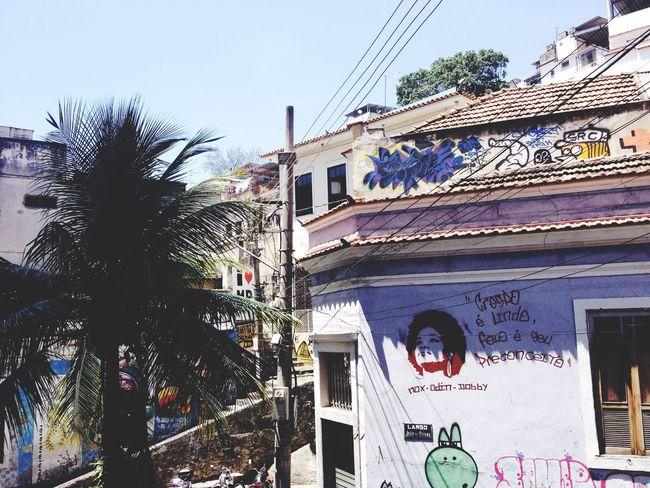 Arte Urbana Stencil Pedra Do Sal Rio De Janeiro