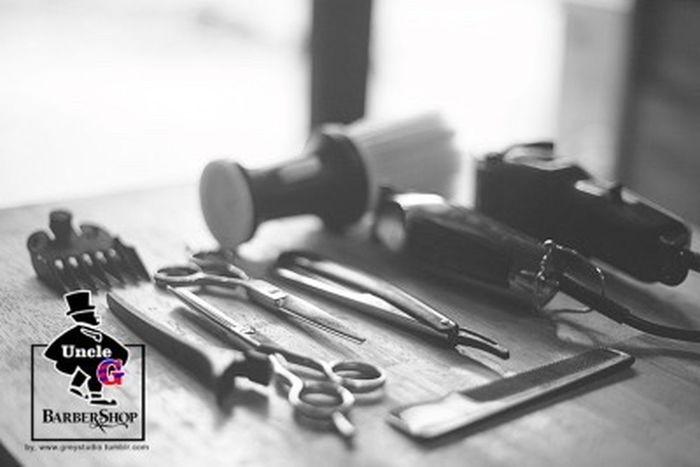 Barbershop Haircut Tools Greystudio Eos5d StillLifePhotography 50mm