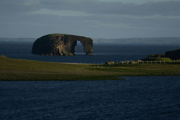 Dore Holm Dore Holm Ferrytale Trip Highlands And Islands Northmavine Travel Photography Traveling Arch Beauty In Nature Deep Blue Natural Arch No People Outdoors Rock Sea Shetland Shetland Islands Landscape Scotland Seascape Seaside