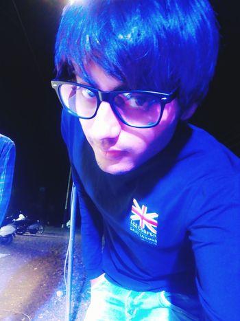 Blue Light Beautiful Me Selfie Clixzy Rajkotian Time Model Bollywood EyeEm