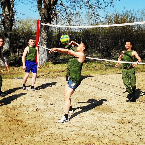 Volleyball In Army★