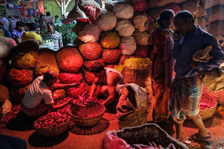 Kolkata, India, Nov 2017. Street Photography Travel Fujifilm_xseries FUJIFILM X-T2 India Kolkata Market Light Streetphotography Colors Holi Multi Colored City Bazaar Market Stall