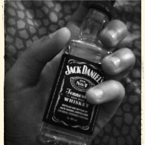 Tout simplement. Jackdaniels Alcoholic Drink Blackandwhite