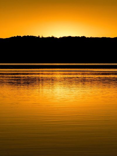 Sunset Mossø