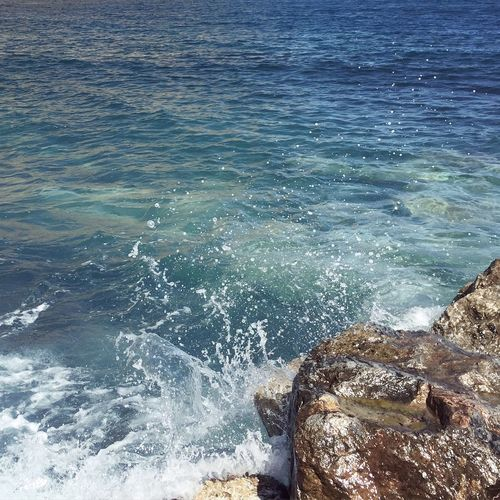 Santorini Perissa Aegean Sea Blue Waves Good Times Passion Nature Sunshine