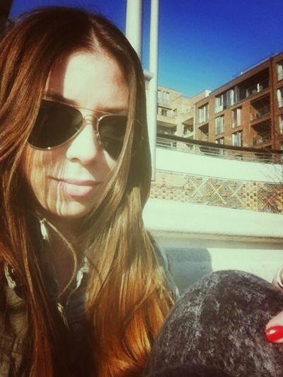 Chillin Sunny Day Finally Spring Rayban