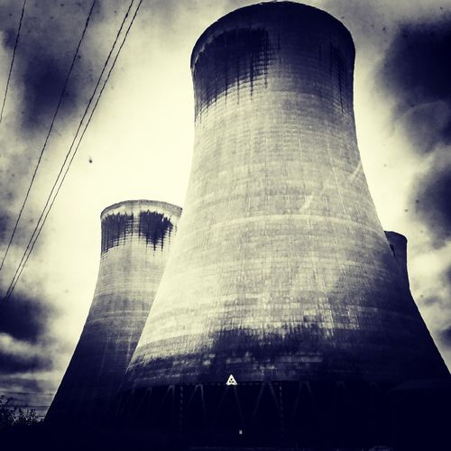 Coal Cooling Tower Power Stations No People Building Exterior Auto Post Production Filter Tower Silhouette Office Building Exterior Day Travel Industry City Travel Destinations Outdoors Office The Architect - 2018 EyeEm Awards