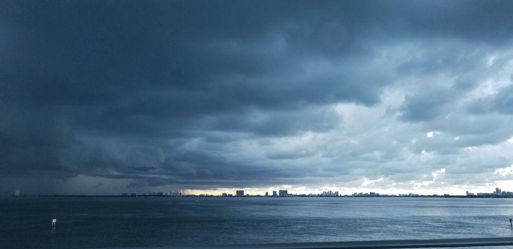 Oil Pump Water Thunderstorm Nautical Vessel Sea Storm Cloud Beach Wave Blue Summer