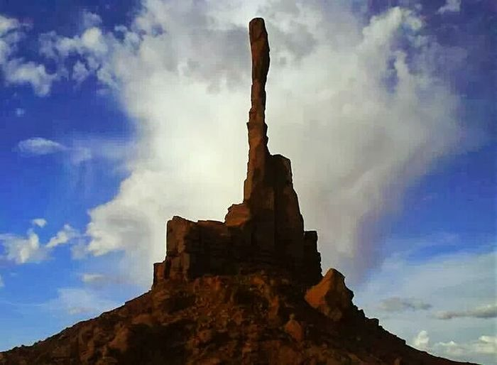 """""""Totem Pole"""" during the summer..Monument Valley"""