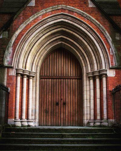Church Architecture Arch Door Architecture Entrance Built Structure Window No People Day Building Exterior