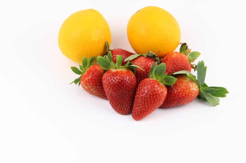 Apple, Strawberries and orange fruits isolated over white background. Healthy lifestyle concept. Copy space Apple Food And Drink Fruits ♡ Isolated Orange Apple - Fruit Apples Close-up Closeup Food Food And Drink Freshness Fruit Fruits Healthy Eating Healthy Food Healthy Fruit Healthy Lifestyle No People Orange - Fruit Strawberries Strawberry White Background