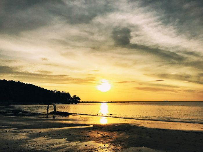 Might this be the most beautiful place on earth? Koh Lanta Thailand Sundown Sunset Sea Water Beauty In Nature Scenics Nature Sky Beach Tranquility Outdoors