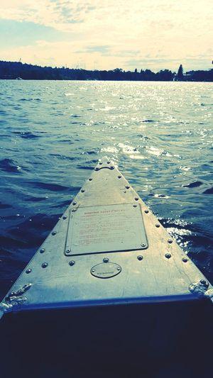 Lake Canoeing PhonePhotography Nature_collection Sunny Day Lakewashington