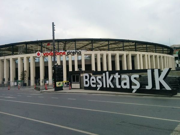 Text Architectural Column Built Structure Architecture Sky Day Outdoors City Sport No People Hockey Istanbul Turkey Beşiktaş ❤