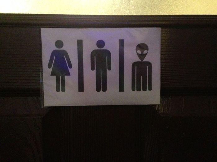 Alien , Woman , Man