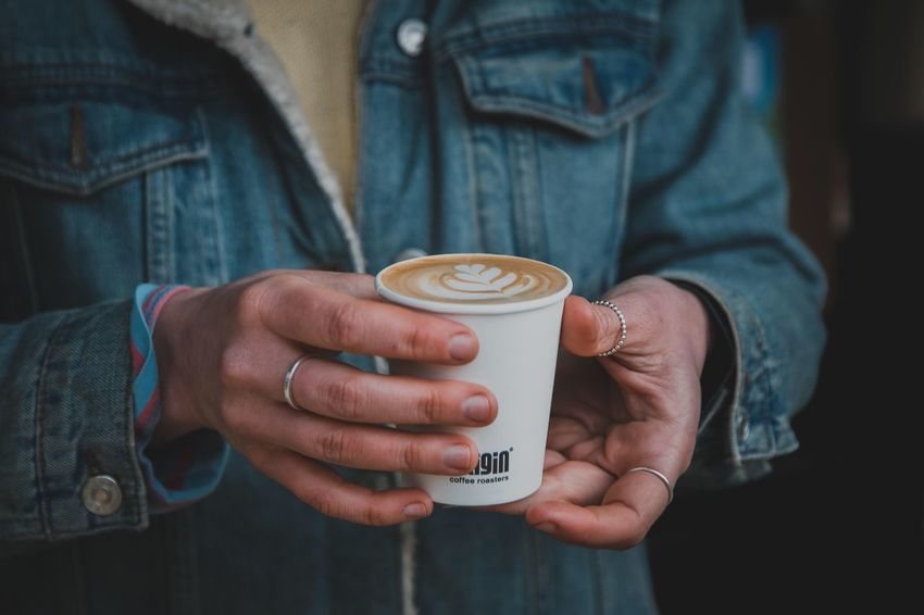 Coffee EyeEm Selects Holding Human Hand Drink Midsection Refreshment Food And Drink Casual Clothing Coffee Cup Mug Indoors  Lifestyles Adult Human Body Part Hand Cup Real People Coffee Coffee - Drink One Person Hot Drink