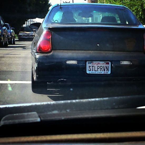 """does this license plate i saw today actually say """"Still pervving"""" ?? who allowed this madness...? LOL Funny Vanityplate Perv Sicko Hilarious Caption"""