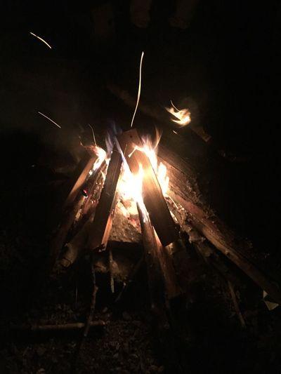 火を見ると安らぐ。