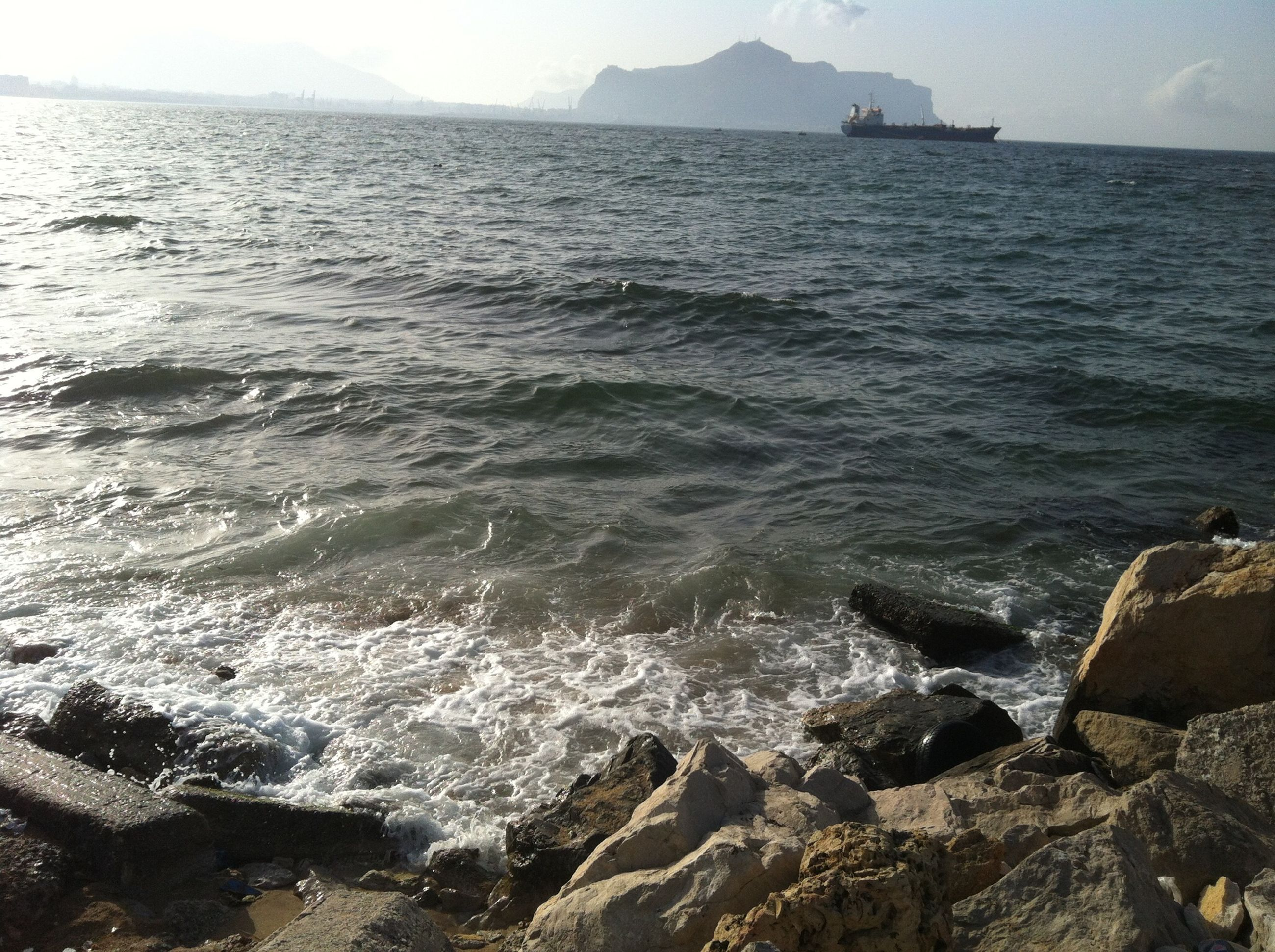 sea, water, nature, beauty in nature, beach, scenics, outdoors, tranquil scene, tranquility, day, sky, no people, wave