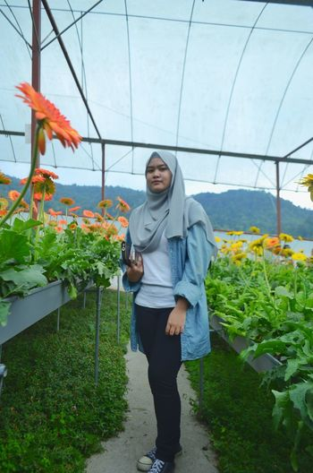Adults Only Senior Adult Mature Adult Full Length Portrait One Person Outdoors Day Greenhouse People Nikonphotography Photography DSLR Nikon at Cameron Highlands