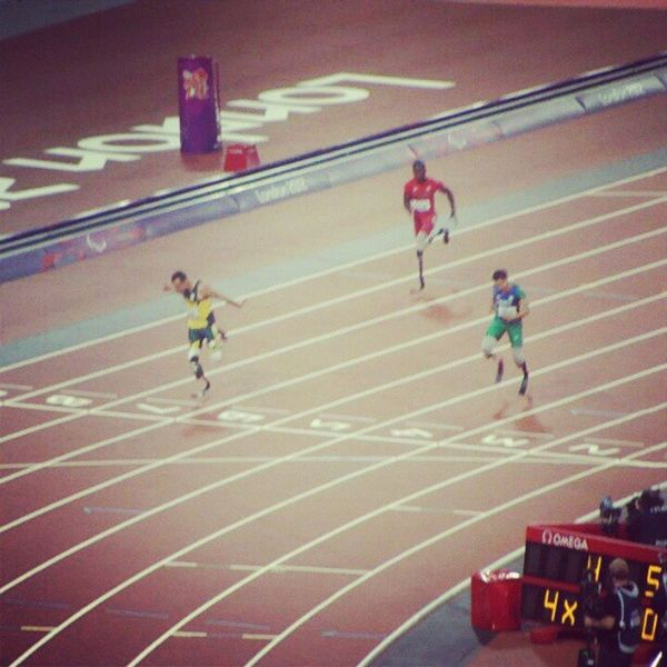 Olympics Oscar Pistorius Gold ParaOlympics London Track And Field Making History Captured Moment Finish Line  Breaking Records