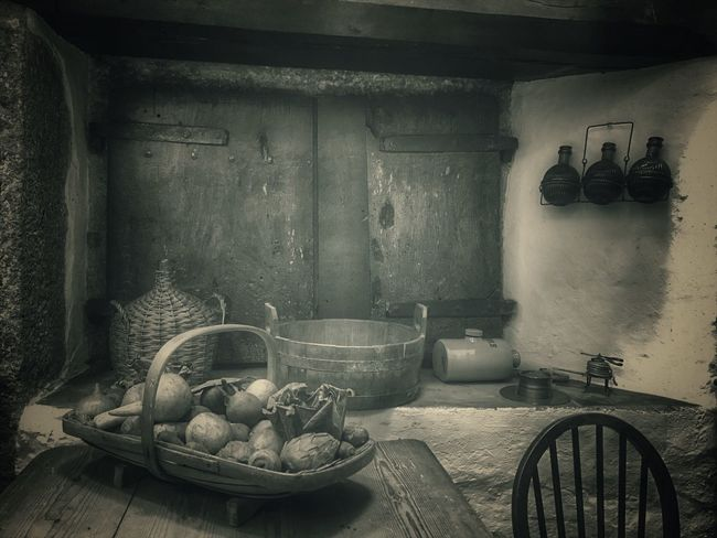 Antique Food Bowl Indoors  No People Freshness Tranquil Scene Domestic Room Darkness And Light Home Interior Snapseed IPhone Photography IPhoneography Tadaa Community Fortheloveofblackandwhite Black & White