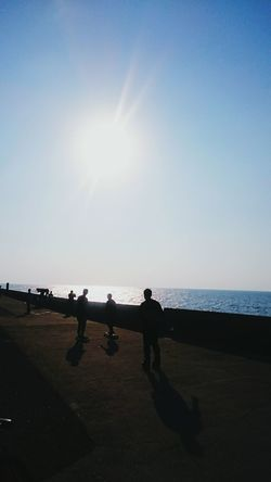 Skateboard Sunlight Silhouette Beach Sky Water Shadow People Nature Sea Horizon Over Water Beauty In Nature Outdoors Day Adult Only Men Adults Only