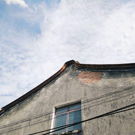 - 'ย่านเมืองเก่า' รูปทรงบ้านมีสไตล์ผสมผสาน ระหว่างจีนกับชิโนโปรตุกีส . 23.08.15 Mminsongkhla