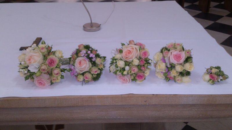 Brautstrauss , Wedding Bouquet Taking Photos