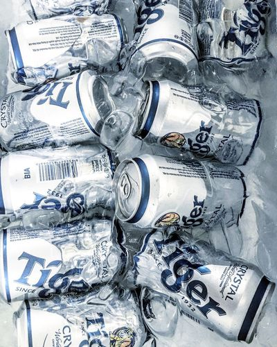 Alcohol No People Drink Indoors  Close-up Day Beer Cold Cold Beer Cold Beverages Cold Beers Ice Tiger Party Summer Summer Party