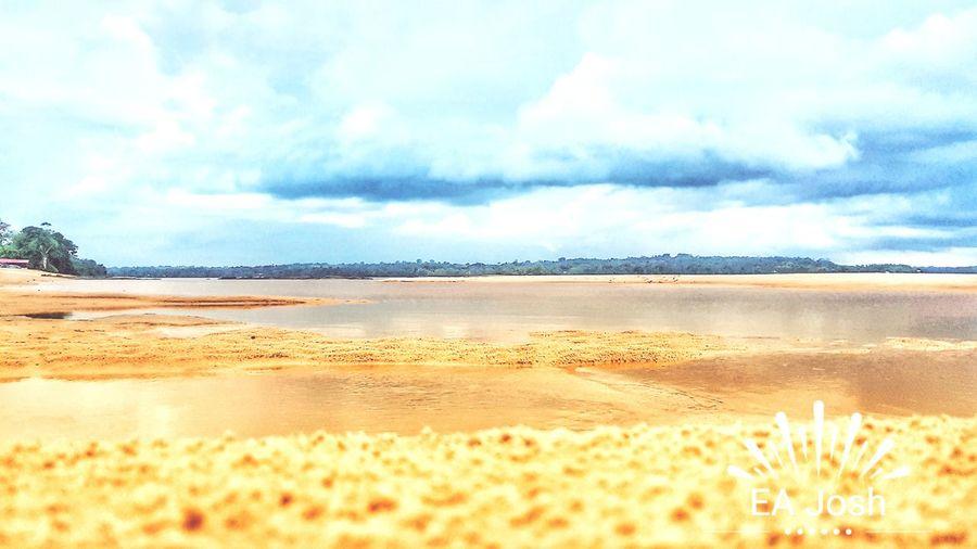 Cayuni River Sand Dune Desert Arid Climate Flamingo Mountain Blue Heat - Temperature