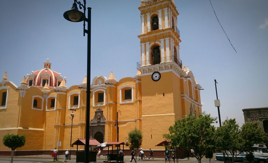 Old Church History Historical Building Culture Mexico Arquitecture